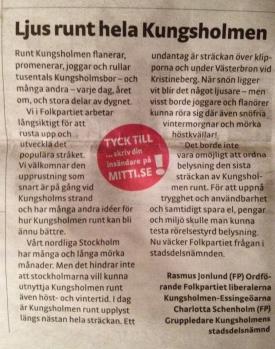 Mitt i Kungsholmen, v 52/12.