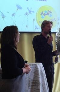 Bengt Ohlsson deltog på liberala biblioteksseminariet med Madeleine Sjöstedt...