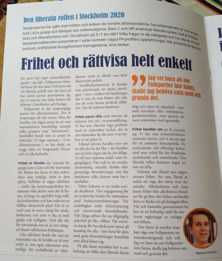 Ur Stockholmsliberalen 5/2013.