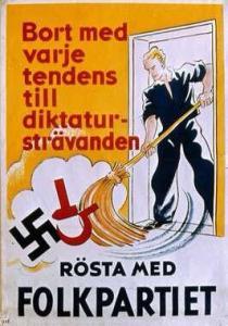 Så gick Folkpartiet till val 1936. Berlin-OS år.