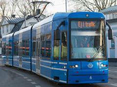 Spårvagnar i trafik vill vi se på linje 4.