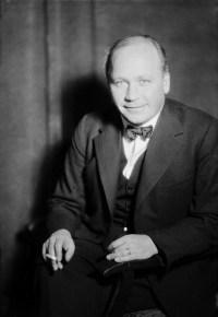 Herbert Tingsten (1896-1973), statsvetare och publicist, och ofta arg.