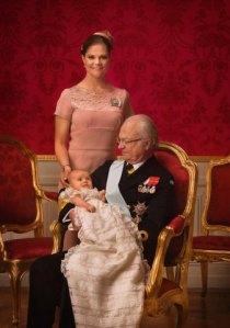 Den kungliga tronföljden personifierad. Foto: Kungahuset.se, fotograf Bruno Ehrs.