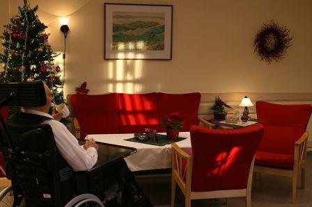 Miljö som fordrar arbetskläder. Från ett äldreboende i Norge. Wikimedia/Thomas Bjørkan.