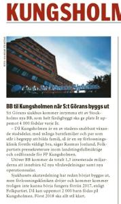 Vårt Kungsholmen 11 januari 2014.