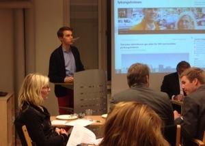ORDFÖRANDE. Redogjorde i kväll för den utåtriktade verksamheten i Folkpartiet Kungsholmen under 2013, genom nedslag på vår blogg där vi redovisar våra olika aktiviteter.
