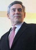RETORIKER. Gordon Brown vann inga val, men  hade ett och annat att säga.