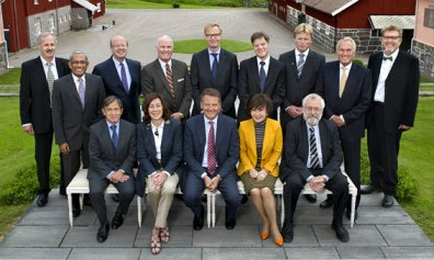 Typisk storbolagsstyrelse? Volvokoncernens styrelse. Foto från volvo.se
