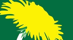 Miljöpartiets logga COPYRIGHT SCANPIX SWEDEN KOD 200