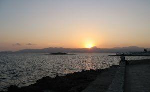 INGET FÖR LÄRARE? Solnedgång i Palma de Mallorca. Bild Wikimedia/Wind.