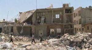 FLYKTBEHOV. Människor från krigets Syrien måste kunna få skydd i Europa, och i svenska kommuner. Bild från Wikimedia, Scott Bob, Voice of America.