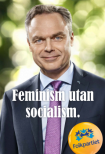 LIBERAL FEMINIST. Folkpartiets Jan Björklund.