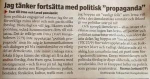 VÅRT KUNGSHOLMEN 4 oktober 2014.