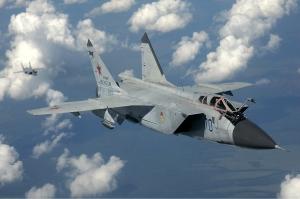 RYSK JAKT. MiG-31 hör till de ryska stridsflygplan som rört sig över norra Europa i stor omfattning de senaste dagarna.