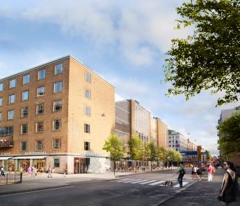 RENOVERINGSDAGS. Ett framtida Medborgarhus? Vy från Folkungagatan, Nyréns arkitekter via bygg.stockholm.se