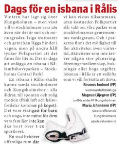 VÅRT KUNGSHOLMEN 14/2 2015.