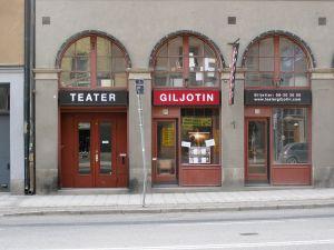 KULTUR FÖR UNGA. Teater Giljotin är en av kulturproducenterna inom Kulan, kultur för skolbarn.
