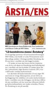 TIDNINGEN ÅRSTA-ENSKEDE 9 maj 2015.