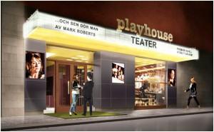 TEATER MED STÖD. Playhouse, som just nu bygger om sina nya lokaler på Drottninggatan, är en vital del av Stockholms fria kulturliv. Foto Viktor Kjellberg.