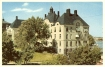 HISTORISKT SJUKHUS. Gammalt vykort över huvudbyggnaden för Ersta sjukhus (famgus.se)