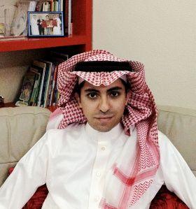 Raif Badawi, foto via Svenska Pen/Wikimedia.
