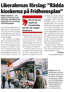 Vårt Kungsholmen 20/2016, 14 maj.