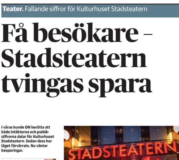 Nedslag kulturhuset kulturministern ar i huset